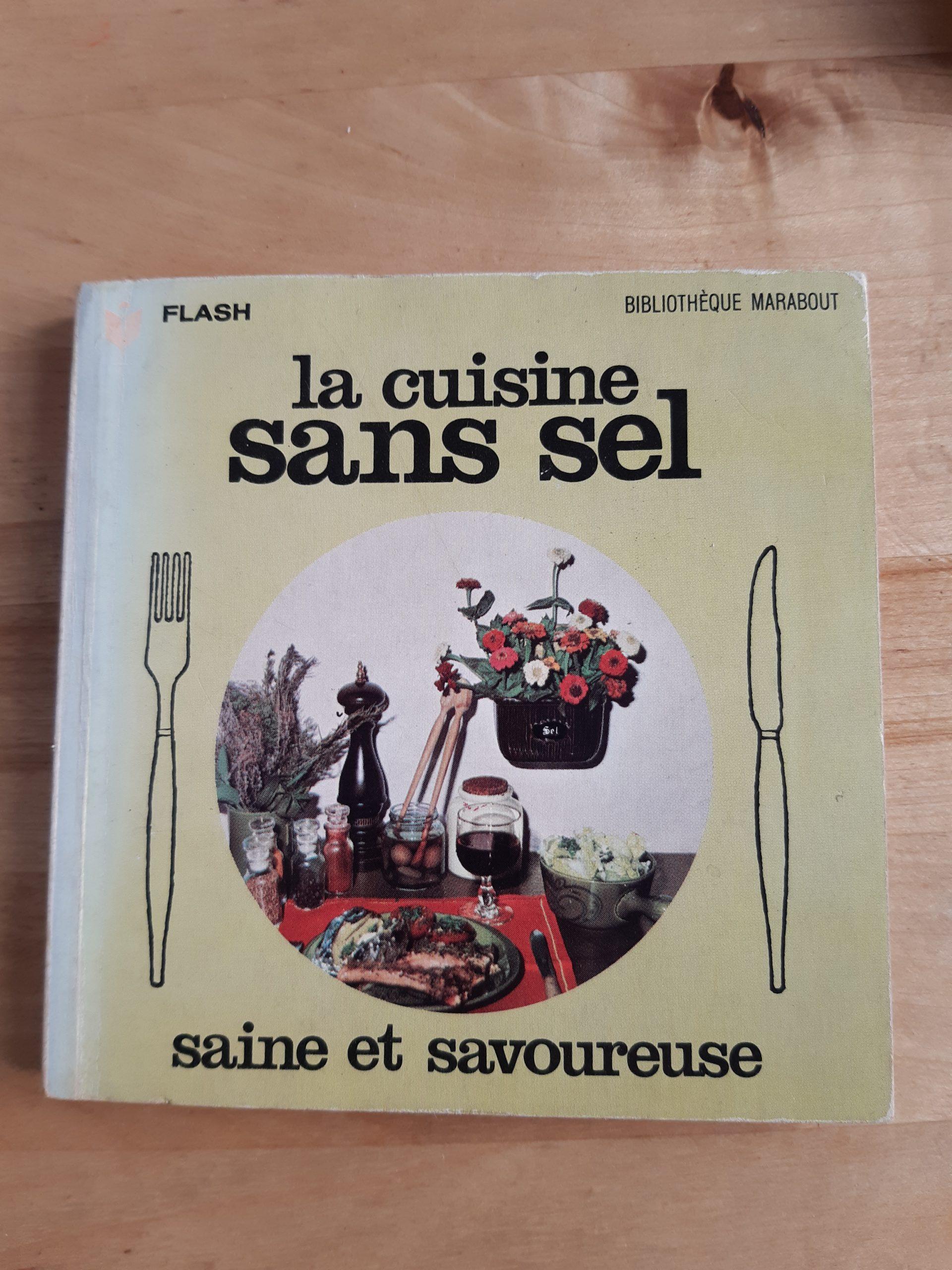 La cuisine sans sel